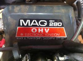 Foto 2 Benzinmotor Hydrojet Junior MAG GH 280   8 PS