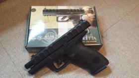 Foto 3 Beretta APX 4,5mm Stahl BB CO2 Blowback
