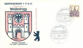 Foto 2 Berlin 2 Erstagsbriefe mit Nr. 244+249 wie auf Bilder zu sehen