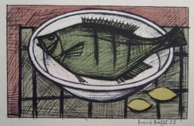 Bernard Buffet - Fish