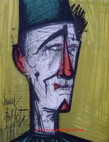 Bernard Buffet - Jojo le Clown ORIGINAL Lithographie
