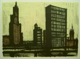 Bernard Buffet - New York IX