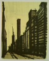 Bernard Buffet - New York VIII