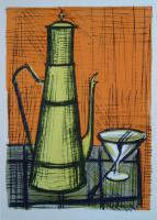 Bernard Buffet - Still-life with a coffe-pot