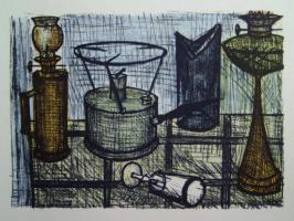 Bernard Buffet - The oil-lamp