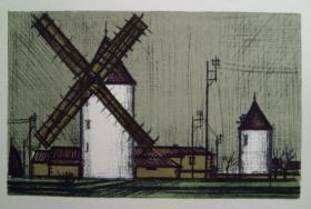 Bernard Buffet - Windmill
