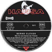Foto 4 Bernd Clüver – Das Tor Zum Garten Der Träume ° Vinyl LP 1974