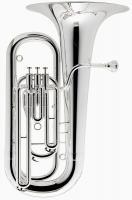 Besson Es - Tuba Neuware echt versilbert inkl. Koffer und Mundstück