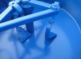 Foto 3 Betonmischer Mischer mit elektrischem Antrieb Mischmaschine Zementmischer 800L