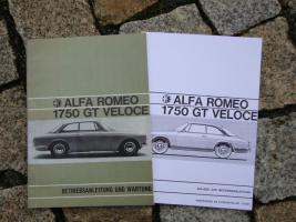 Betriebsanleitung Alfa Romeo Bertone GT 1969