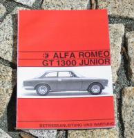Foto 2 Betriebsanleitung Alfa Romeo Bertone GT 1969