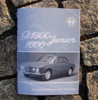 Foto 4 Betriebsanleitung Alfa Romeo Bertone GT 1969