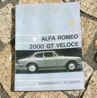 Foto 6 Betriebsanleitung Alfa Romeo Bertone GT 1969