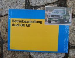 Betriebsanleitung Audi 80 GT 1973 B1