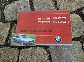 Betriebsanleitung BMW E12 518 520 525 528i / 1979