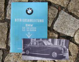 Betriebsanleitung BMW V8 Barockengel 1961