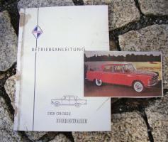 Betriebsanleitung Borgward 2,3 Liter P100 1960