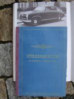 Betriebsanleitung Borgward Hansa 2400 (1953)