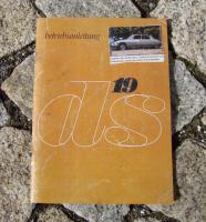Betriebsanleitung Citroen DS 19 (1965) 84 PS