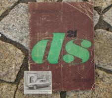 Betriebsanleitung Citroen DS 21 Mechanik / 1966
