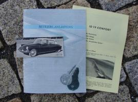 Betriebsanleitung Citroen ID 19 (1961) DS