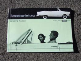 Betriebsanleitung DKW F 12 Roadster (1963)