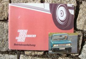Betriebsanleitung Fiat 125 Limousine Special / 1972