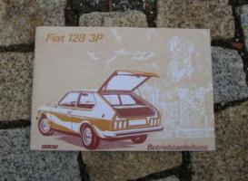 Betriebsanleitung Fiat 128 3p Berlinetta Coupé / 1976