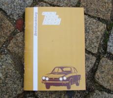 Foto 5 Betriebsanleitung Fiat 600 D Multipla Oldtimer / 1961