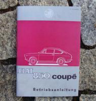 Betriebsanleitung Fiat 850 Coupé / 1966