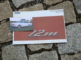 Betriebsanleitung Ford 12M P6 / 1966