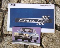 Foto 5 Betriebsanleitung Ford Escort II RS 2000 / 1976