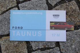 Betriebsanleitung Ford Taunus 17 M P5 1967
