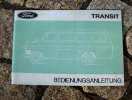 Betriebsanleitung Ford Transit II / 1970 Oldtimer