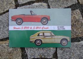 Foto 4 Betriebsanleitung Honda S 800 Coupé Cabriolet / 1968