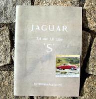 Betriebsanleitung Jaguar Type S / 1967 Oldtimer
