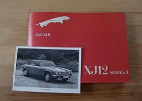 Betriebsanleitung Jaguar XJ 12 Lim. / Coupé (1974) Serie 2