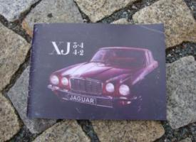 Foto 2 Betriebsanleitung Jaguar XJ 12 Lim. / Coupé (1974) Serie 2