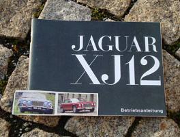 Betriebsanleitung Jaguar XJ 12 / 1972 Serie 1 V12
