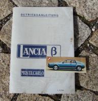 Foto 2 Betriebsanleitung Lancia Montecarlo (1976) Beta Montecarlo