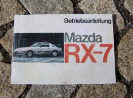 Betriebsanleitung Mazda RX-7 Coupé (1983)