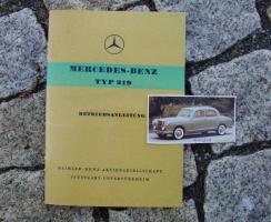 Foto 5 Betriebsanleitung Mercedes 180 Dc ''Ponton'' (1961)