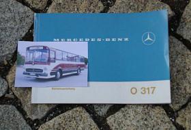 Betriebsanleitung Mercedes O 317 Omnibus / 1969