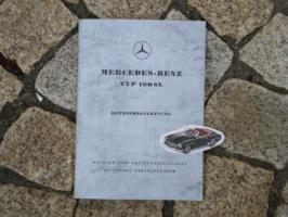 Foto 2 Betriebsanleitung Mercedes W120 180 b 1959 Ponton