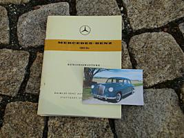 Foto 4 Betriebsanleitung Mercedes W120 180 b 1959 Ponton