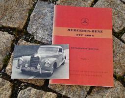 Foto 5 Betriebsanleitung Mercedes W120 180 b 1959 Ponton