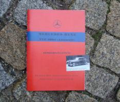 Foto 6 Betriebsanleitung Mercedes W120 180 b 1959 Ponton