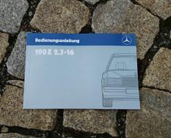 Betriebsanleitung Mercedes W201 190 E 2.3-16 1984