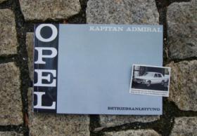 Betriebsanleitung OPEL KAPITÄN B / ADMIRAL B (1970)