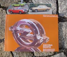 Betriebsanleitung Opel Ascona B / Manta B  1979